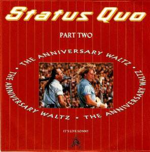 Status Quo: Anniversary Waltz - Part Two, The - Cover