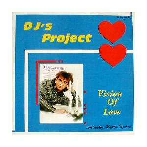 Cover - DJ's Project: Vision Of Love