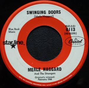 Cover - Merle Haggard And The Strangers: Swinging Doors