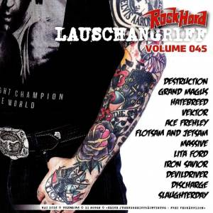 Rock Hard - Lauschangriff Vol. 045 (CD) - Bild 1