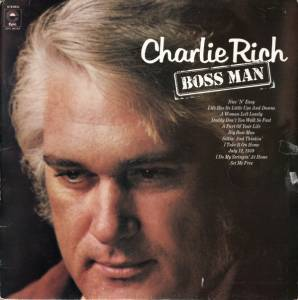 Cover - Charlie Rich: Boss Man