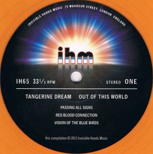 Tangerine Dream: Out Of This World (2-LP) - Bild 4
