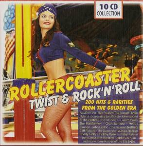 Cover - Screaming Lord Sutch & The Savages: Rollercoaster - Twist & Rock'n'Roll