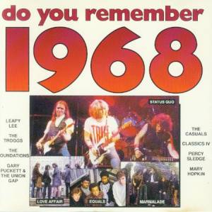Do You Remember 1968 - Cover
