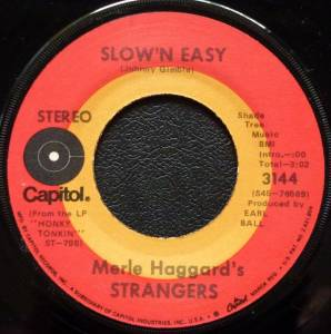 "Cover - Merle Haggard And The Strangers: Slow 'n Easy / Song From ""Sleep Walk"""