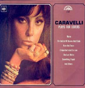 Cover - Caravelli: Plays For Lovers