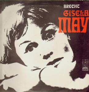 Cover - Gisela May: Brecht