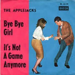 Cover - Applejacks, The: Bye Bye Girl