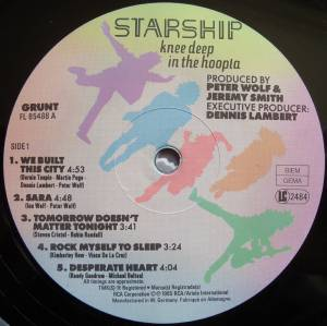 Starship: Knee Deep In The Hoopla (LP) - Bild 5