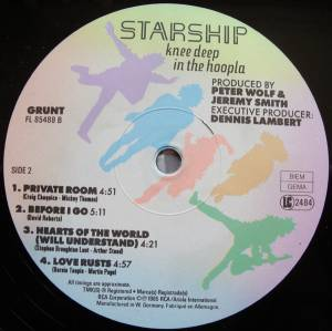 Starship: Knee Deep In The Hoopla (LP) - Bild 6