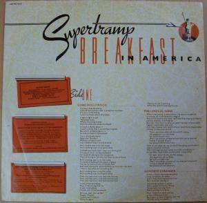 Supertramp: Breakfast In America (LP) - Bild 3