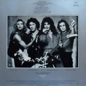 Van Halen: Women And Children First (LP) - Bild 2