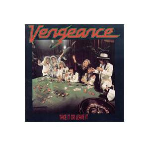 Cover - Vengeance: Take It Or Leave It