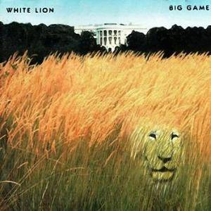 White Lion: Big Game - Cover