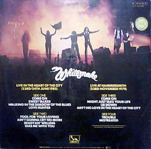 Whitesnake: Live... In The Heart Of The City (2-LP) - Bild 6