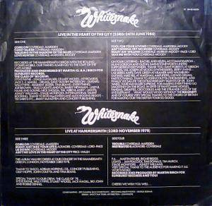 Whitesnake: Live... In The Heart Of The City (2-LP) - Bild 7