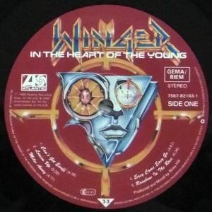 Winger: In The Heart Of The Young (LP) - Bild 3