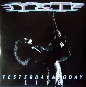 Y&T: Yesterday & Today Live - Cover