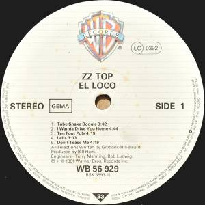 ZZ Top: El Loco (LP) - Bild 5