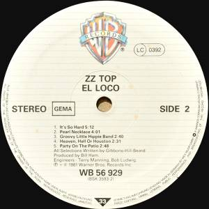 ZZ Top: El Loco (LP) - Bild 6