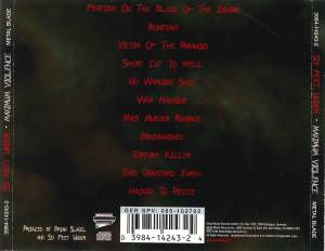 Six Feet Under: Maximum Violence (CD) - Bild 6