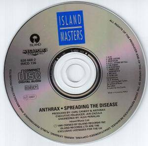 Anthrax: Spreading The Disease (CD) - Bild 4