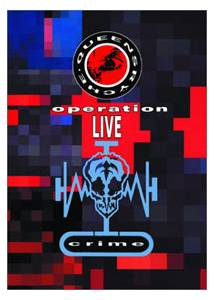 Queensrÿche: Operation: LIVEcrime - Cover
