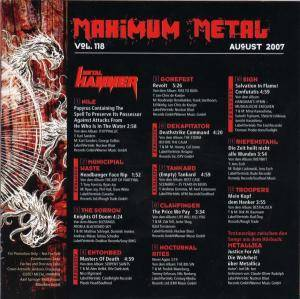 Metal Hammer - Maximum Metal Vol. 118 (CD) - Bild 2