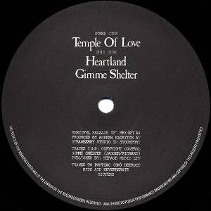 "The Sisters Of Mercy: Temple Of Love (12"") - Bild 4"