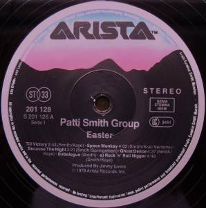 Patti Smith Group: Easter (LP) - Bild 2