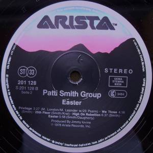 Patti Smith Group: Easter (LP) - Bild 3