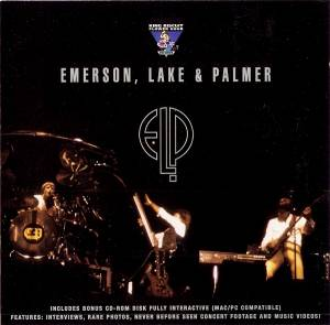 Emerson, Lake & Palmer: King Biscuit Flower Hour - Cover