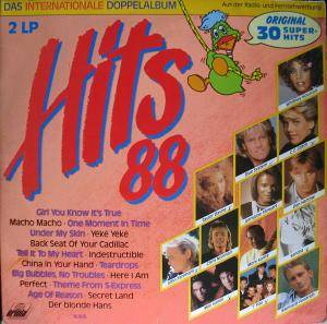 Hits 88 - Die Internationalen Super Hits - Cover