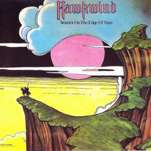 Hawkwind: Warrior On The Edge Of Time - Cover