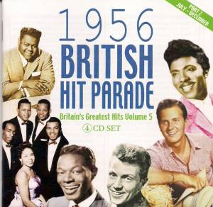 Cover - Teresa Brewer: 1956 British Hit Parade - Britain's Greatest Hits Volume 5 - Part 2 July - December