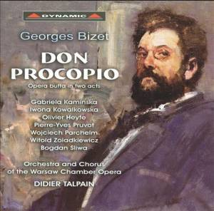 Georges Bizet: Don Procopio - Cover