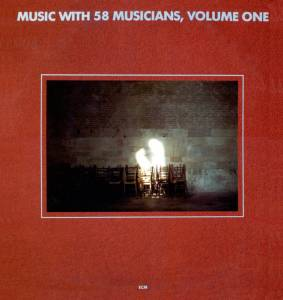 Cover - Paul Motian Trio: Music With 58 Musicians, Volume One