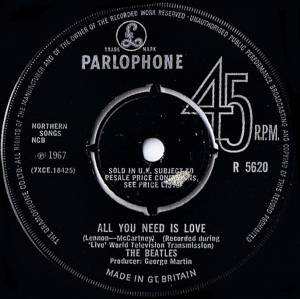"The Beatles: All You Need Is Love (7"") - Bild 4"