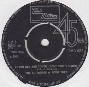 Cover - Supremes & The Four Tops, The: Reach Out And Touch (Somebody's Hand)