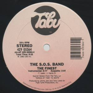 "S.O.S. Band: The Finest (12"") - Bild 4"