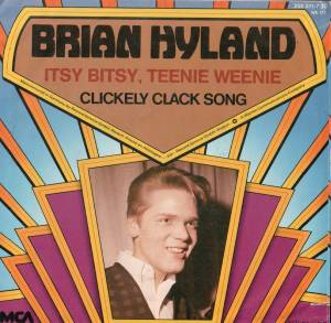 Cover - Brian Hyland: Itsy Bitsy, Teenie Weenie / Clickely Clack Song