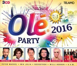Cover - Glasherz: Olé Party 2016
