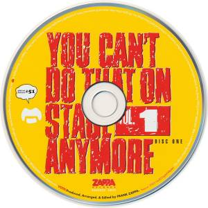 Frank Zappa: You Can't Do That On Stage Anymore Vol. 1 (2-CD) - Bild 3