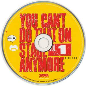 Frank Zappa: You Can't Do That On Stage Anymore Vol. 1 (2-CD) - Bild 4