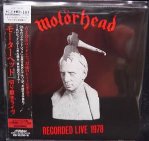 Motörhead: Recorded Live 1978 (CD) - Bild 1