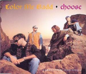 Cover - Color Me Badd: Choose