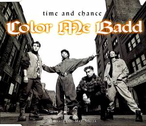 Cover - Color Me Badd: Time And Chance