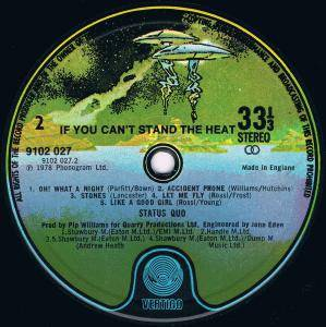Status Quo: If You Can't Stand The Heat... (LP) - Bild 7