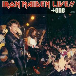 Iron Maiden: Live!! + One - Cover