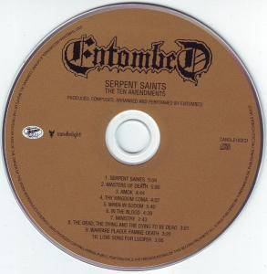 Entombed: Serpent Saints (The Ten Amendments) (CD) - Bild 5